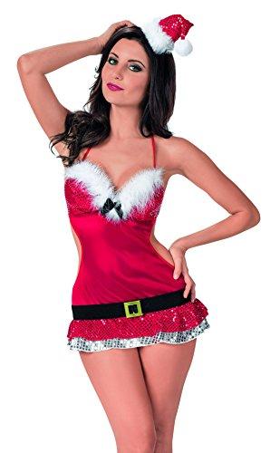 Escante Women's Santa's Helper Dress with Hat