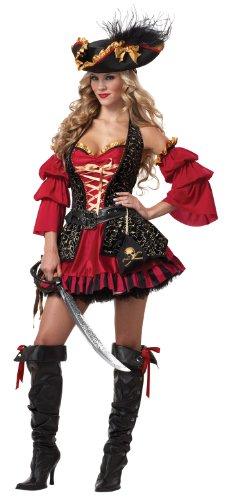 California Costumes Women's Eye Candy – Spanish Pirate Adult