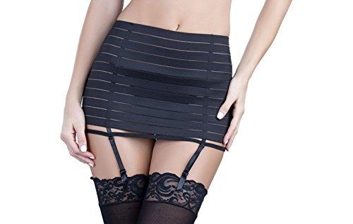 Oh la la Cheri Women's Bandage Garter Skirt with G-String