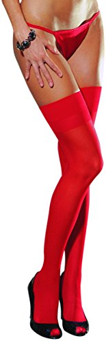 Dreamgirl Women's Thigh High with Back Seam