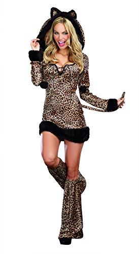 Dreamgirl Women's Sexy Animal Cheetah Luscious Costume