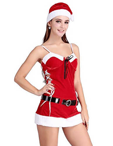 Papaya Wear Costume Women's Santa's Miss Inspiration Dress