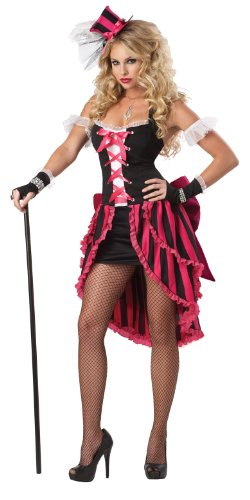 California Costumes Women's Eye Candy – Parisian Showgirl Adult