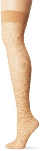 Leg Avenue Women's Nylon Fishnet Thigh-High