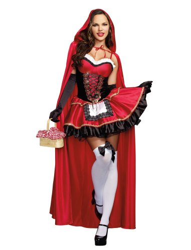 Dreamgirl Women's Sexy Fairytale Costume, Little Red