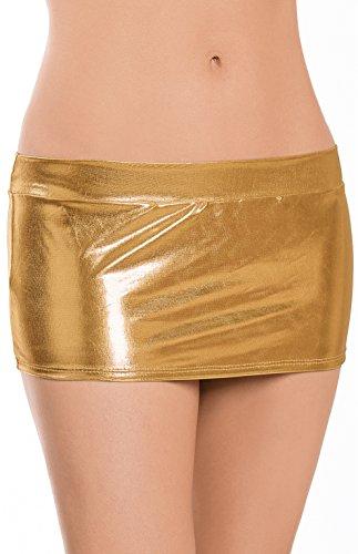 Escante Women's Metallic Mini-Skirt