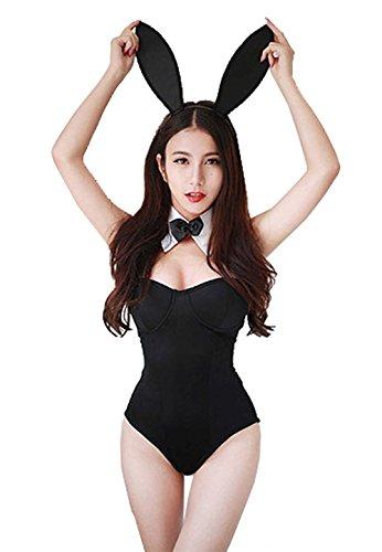Yipost Women's Bunny Girl Costume Cosplay Dress
