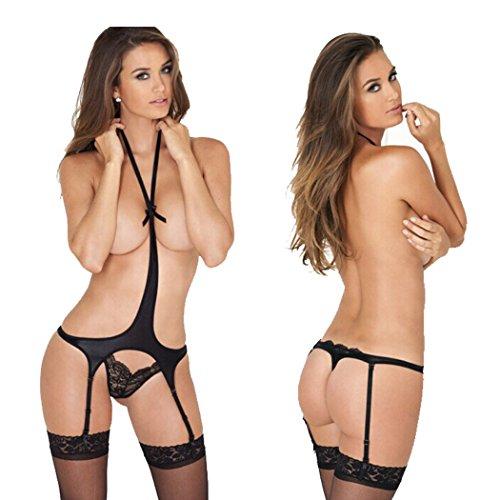 Sexy Lingerie Underwear Lace Dress Open Bra Crotch Hot Nightwear Set