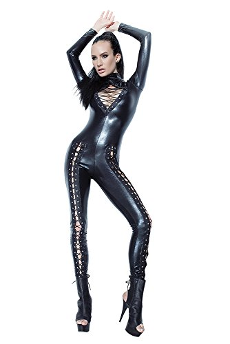Coquette Women's Jumpsuit with Lace Up Detail