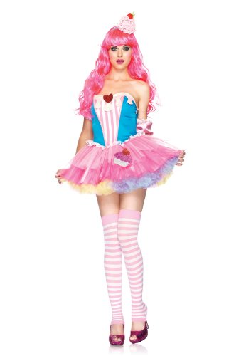 Sugar And Spice Cupcake Adult Costume Size Medium/Large (10-14)