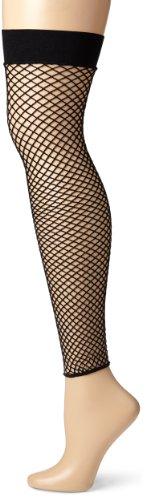 Leg Avenue Women's Industrial Net Footless Thigh-High Leg Warmer