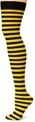 Leg Avenue Women's Nylon Striped Stockings