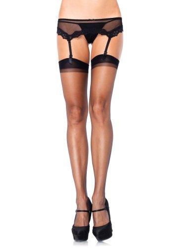 Leg Avenue Women's Spandex Ultra Sheer Stockings