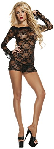 Starline Women's Lacey Luxe Off The Shoulder Dress