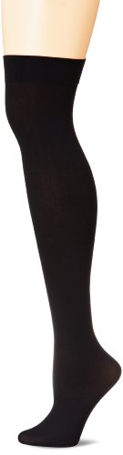 Leg Avenue Women's Plus-Size Opaque Nylon Thigh-High Hosiery