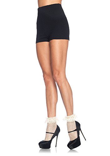 Leg Avenue Women's Daisy Dot Anklet Socks