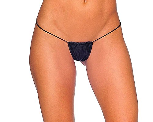 BodyZone Apparel Tiny Tee Sexy Thong Panties. Coral. One Size. Made in USA.