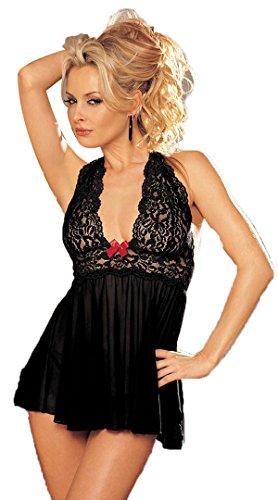 Hot Women Sexy Lingerie Sleepwear Night Babydoll Dress