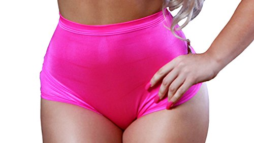 BodyZone Apparel Sexy High Waisted Panty. White. O/S. Made in USA.