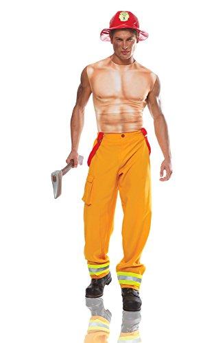 Costume Culture Men's Sexy Firefighter Dude Costume