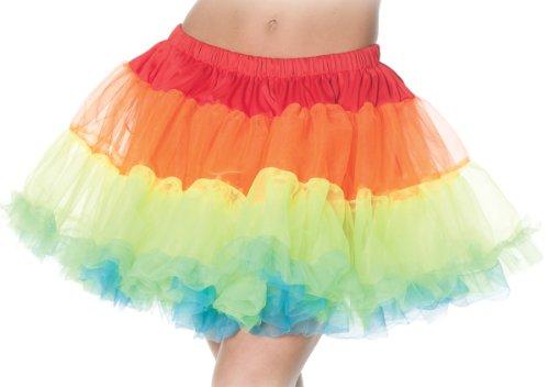 Underwraps Women's Rainbow Petticoat