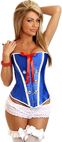 Daisy Corsets Women's Sexy Sailor Pin Up Corset