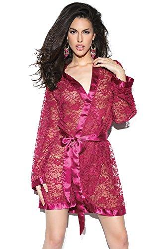 Coquette Women's Raspberry Robe