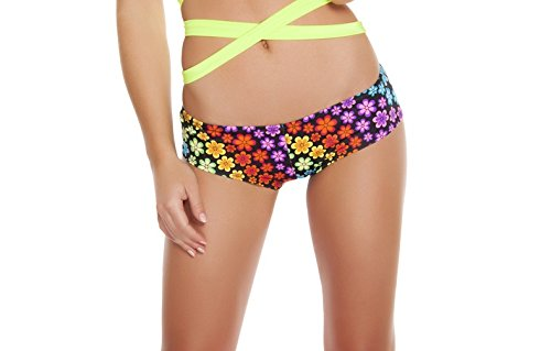 Roma Women's Printed Low-Rise Shorts