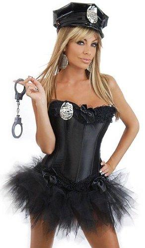 Daisy Corsets 5 PC Sexy Cop Costume