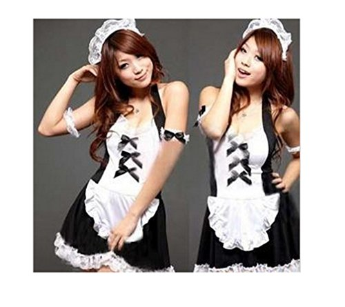 Geoot Sexy Lingerie Maid Outfit