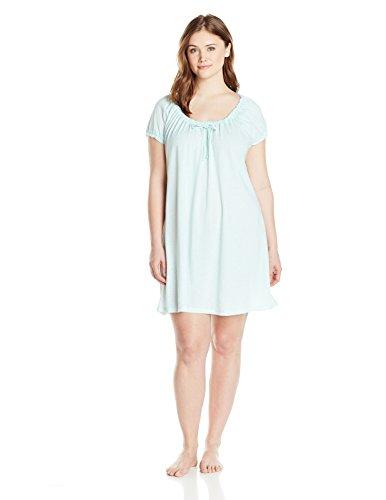 Rene Rofe Women's Plus-Size Midnight Dreams Sleepshirt Plus Size