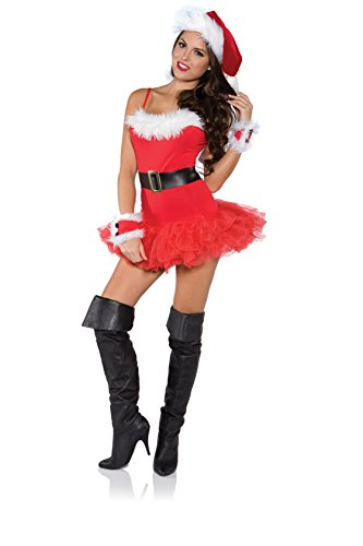 Underwraps Costumes Women's Sexy Christmas Costume – Naughty