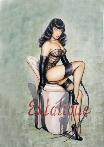 'Extatique' Corset (Black;One Size)