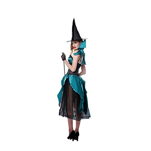 Amour Eden ® Womens Sexy Witch Costume Elegant Dress Lingerie for Halloween Cosplay
