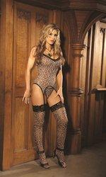 Bustier Set Leopard