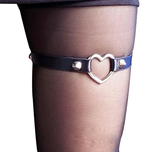 Mallcat LOVE Womens Harness Garter Belts Cosplay Spike Party 1PC
