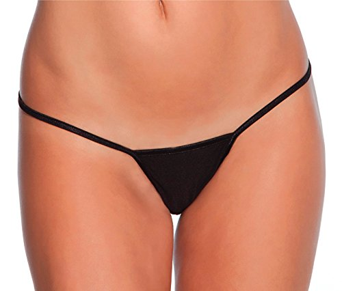 Low Rise Lycra G-String Black XL