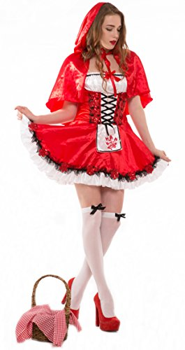 Whatsofun Sexy Red Riding Hood Costume