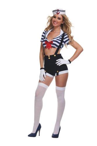 Starline Women's Sexy Harbor Hottie Costume Set