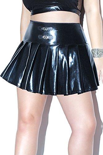 Coquette Women's Plus Size Diva Pleated Mini Skirt