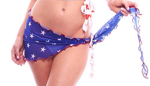 BodyZone Apparel Women's USA Stars Mesh Wrap.