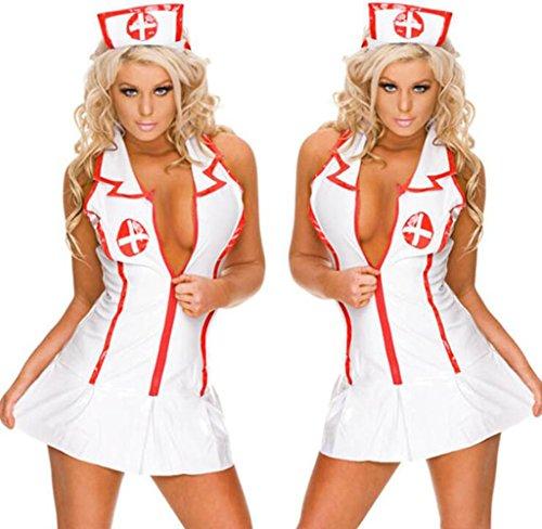 The Nurse Role Sexy Lingerie Suit, Nurse Suit Cosplay Uniform Temptation Role-playing Club