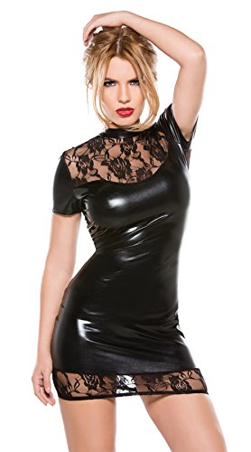 LHS Charmer Hot Erotic Lingerie Lenceria Sexy Lingerie Sexy Underwear Backless Babydoll Sleep Wear Leather Nightdress