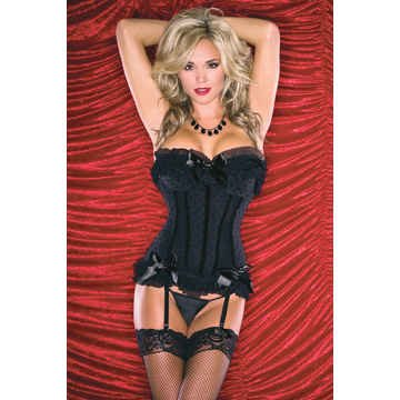 Corset Polka Dot Mesh Medium