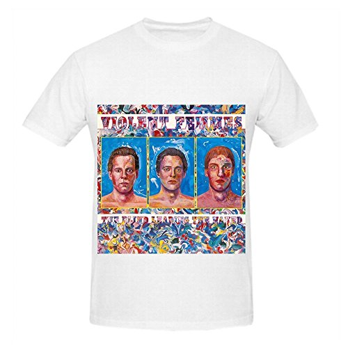Violent Femmes The Blind Leading The Naked Tour Soul Men Crew Neck Cool Shirts White