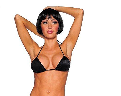 Black Mini Triangle Bikini Top – ONE SIZE