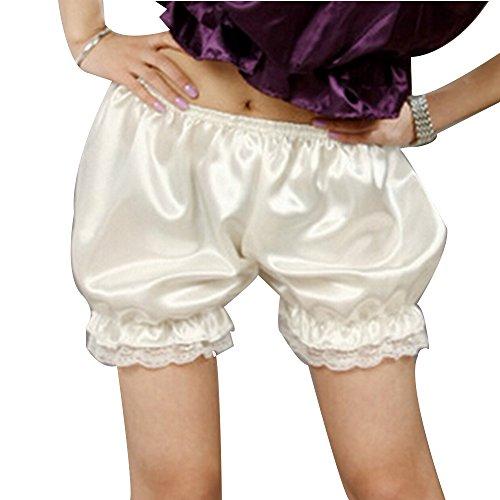 Women Candy Lace pants Pumpkin Pyjama Pants Shorts Underwear Leggings White