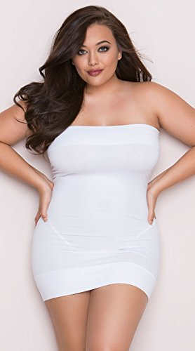 Plus Size Perfect Tube Dress, Plus Size Little Black Dress