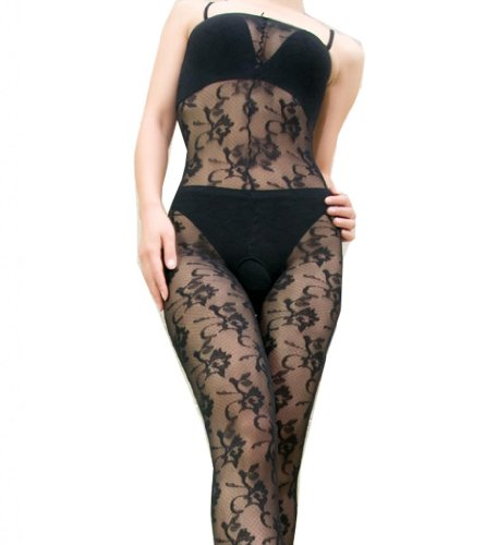WIIPU Sexy Erotic Lingerie Bodystocking Coverall Stockings Body Suits(LN124)