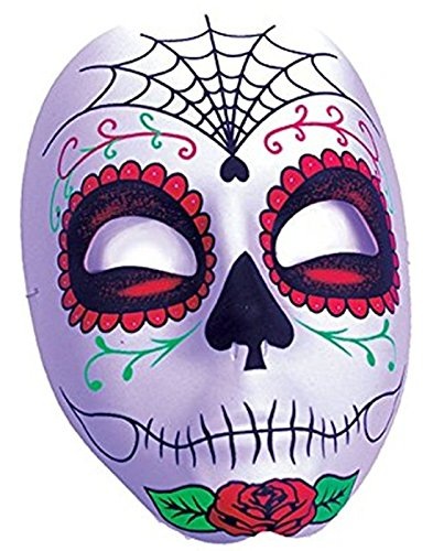 Day of the Dead Mask Costume Accessory